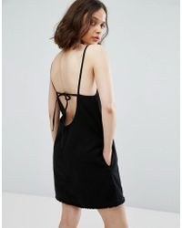 Weekday - Cami Dress With Back Strap Detail - Lyst