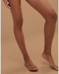 Nubian Skin - Glossy 13 Denier Nude Tights In Medium - Lyst