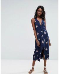 MAJORELLE - Twist Front Dress - Lyst