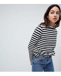 Weekday - Long Sleeved Stripe Top - Lyst