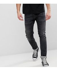 Nudie Jeans - Co Tight Terry Jeans Black Streets Wash - Lyst