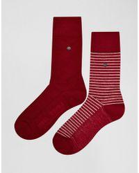 Levi's - Levi's Stripe Socks In 2 Pack - Lyst