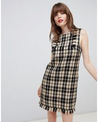 Darling - Houndstooth Shift Dress - Lyst
