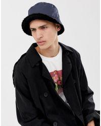 b08a7397f72477 Ellesse Binno Bucket Hat In Navy in Blue for Men - Lyst