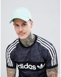 1be3063f92082 Adidas Originals Adidas Trefoil Trucker Hat in Blue for Men - Lyst
