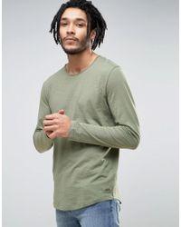 Esprit - Longline Long Sleeve Top - Lyst