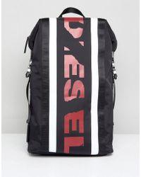DIESEL - Logo Backpack - Lyst