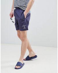Hackett - Mr. Classic Swim Shorts In Navy - Lyst