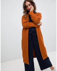 Monki - Lightweight Tailored Coat - Lyst