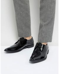 Frank Wright - Derby Shoes In Patent Leather - Lyst