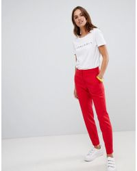 French Connection - Whisper Ruth Tapered Tailored Trousers - Lyst
