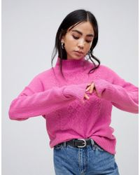 B.Young - Cable Knit Jumper - Lyst