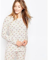 Cath Kidston - Bramley Sprig Nightwear Top - Lyst