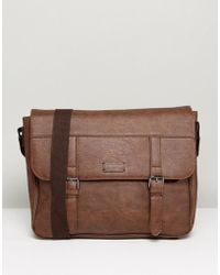 New Look - Satchel In Brown - Lyst