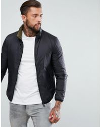Replay - Reversible Thin Down Jacket - Lyst