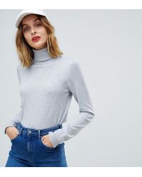 Esprit - Roll Neck Knitted Sweater - Lyst