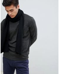 Jack & Jones - Knitted Scarf - Lyst
