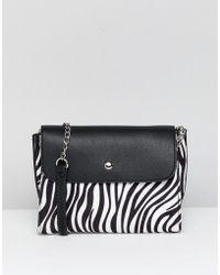 New Look - Animal Print Cross Body Bag - Lyst