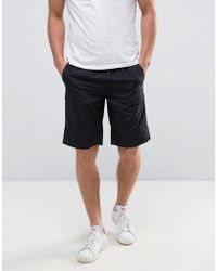 TALL Chino Shorts In Navy - Navy Bellfield Clearance Discount Low Price Fee Shipping Sale Online fl4kC5ws7x