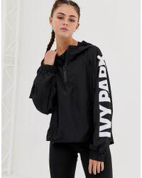 Ivy Park - Jacke mit Logo und Reißverschluss - Lyst