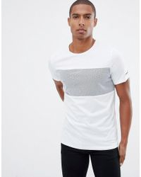 Jack & Jones - Core Block Pannel T-shirt - Lyst