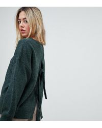 Micha Lounge - Relaxed Jumper With Tie Back - Lyst