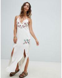 Somedays Lovin - Still Light Embroidered Beach Dress - Lyst