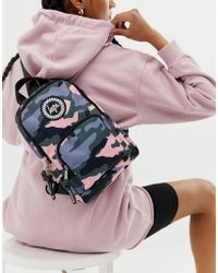 Hype - One Shoulder Strap Backpack In Camo - Lyst