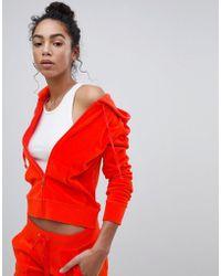 Juicy Couture - Black Label Velour Hoodie - Lyst