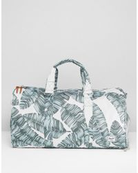 Herschel Supply Co. - Novel Mid-volume Holdall In Palm Print 42.5l - Lyst
