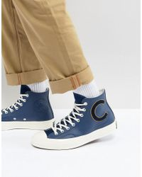 Converse - Chuck Taylor All Star 70 Hi Sneakers In Navy 159678c - Lyst