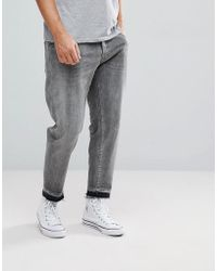 SELECTED - Jeans In Tapered Fit With Cropped Leg - Lyst