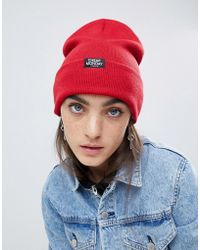 Cheap Monday - Beanie In Red - Lyst