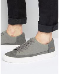 SYSTVM - Lo Trainers In Grey - Lyst