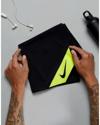 Nike - Training Cool Towel In Black Tt.d1-023 - Lyst