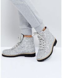 ASOS   Adriana Hiker Ankle Boots   Lyst