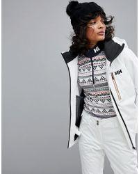 Helly Hansen - Motionista Jacket In White - Lyst