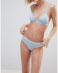 Pieces - Thong - Lyst