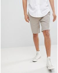 Tokyo Laundry - Chino Shorts With Elastic Waist - Lyst