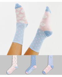 Original Penguin - 3 Pack Polka Dot Sock Gift Box - Lyst