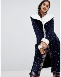 Chelsea Peers - Moon And Star Print Robe - Lyst