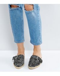 The March - Spotted Flat Mules - Lyst