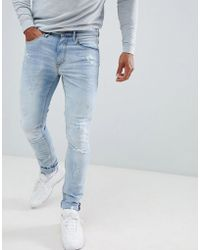 Blend - Slim Fit Jeans In Light Wash - Lyst