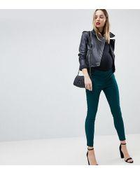 ASOS - Asos Design Maternity High Waist Trousers In Skinny Fit - Lyst