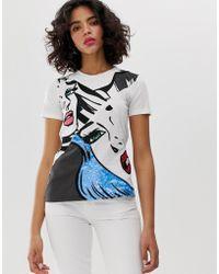 Sportmax Code - Pop Art T-shirt - Lyst