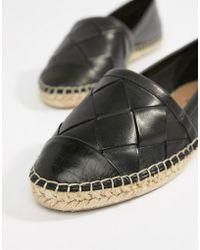 ALDO - Leather Espadrilles - Lyst