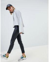 Mango - Faux Leather Legging - Lyst