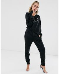 women Clothing Puma Explosive Swan Bodysuit Black