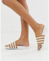 adidas Originals - Adilette Slides - Lyst