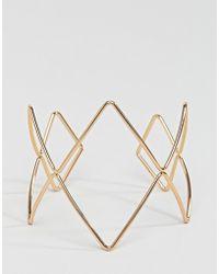 Nylon - Geometric Statement Bracelet - Lyst